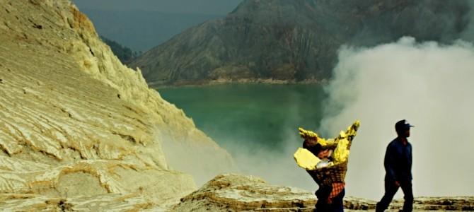Kawah Ijen Jáva –  unikátní těžba síry