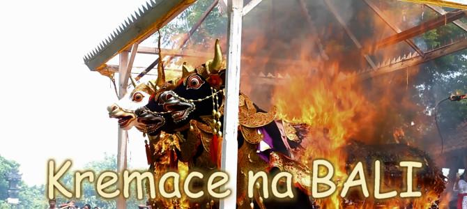 Kremace na Bali